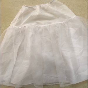 Other - White Petticoat Girl's Size 12